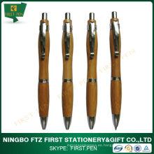 Bolígrafo promocional de bambú