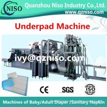 China Fabricação de máquina de underpad com servo completo (CD220-SV)
