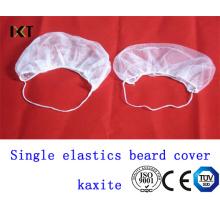 Housse jetable non tissée de barbe avec l'élastique simple pour l'hôpital et l'industrie Kxt-Nbc07