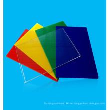 klare gegossene Acrylplatten ausgezeichnete Platte
