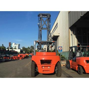 10 Ton Forklift With 8 Meters Mast