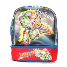Customized Cartoon Lunch Bag With Shoulder Strap Insulated Lunch Box Tote Bag For Kids