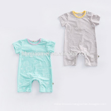 Summer Short Sleeve Cartoon Print Rompers For Baby Boy Girls Baby Born Clothes Baby Onesie