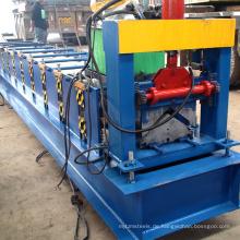 China Hersteller Haus Ridge Cap Roll formende Ausrüstung