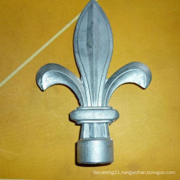 Zinc Alloy Furniture Decoration Part with SGS, ISO9001: 2008