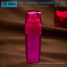 """ZB-TP30 30ml Heiß-Verkauf auffälligen Doppel """"layers"""" injizierten rote luftlose Flasche"""