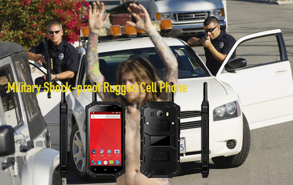 Military Shock-proof Rugged Cell Phone