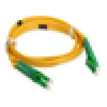 LC SM Fiber Patch Cable, LC APC DX Fibre Optique Patch Cords avec 2,0 mm PVC Jacket prix bon marché par mètre