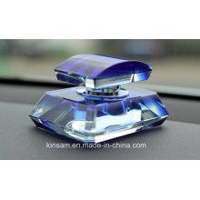 Bouteille élégante de parfum en cristal pour le cadeau et la décoration