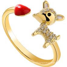 Simole Ring fashion Deer Women Ring