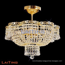 Restaurant lighting ceiling hallway chandelier luxury crystal chandelier