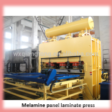 melamine press machine/furniture laminating press machine/wall panels making machine