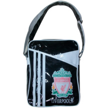 Shiny leather shoulder bag for boy