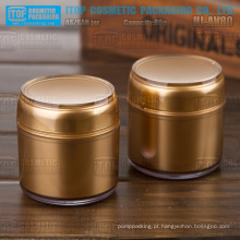 HJ-AV80 camadas dobro de 80g cor pote de máscara facial vazia personalizável de boa qualidade alta classe 80g