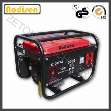 Generador de la gasolina del precio bajo del uso del jardín 2.5kw AVR