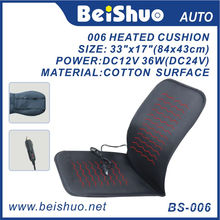100% Polyester Heated Seat Cushion for Car