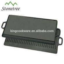 sartén de hierro fundido de diseño especial / placa