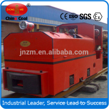 CCG explosion proof diesel locomotive with steel rails