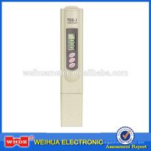 PH-Meter-Stift-Art Digital-Ph-Meter Taschengröße pH-Meter-Wasser-Qualitäts-Prüfvorrichtung TDS-3