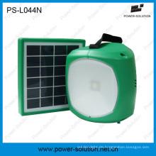 Tragbare LED Solar Taschenlampe für Hauptbeleuchtung
