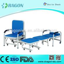 DW-MC101 Chaise d'accompagnement d'hôpital multifonctionnelle