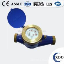 XDO-LXS-15E-50E China Hersteller Multi Jet Wählscheibe nassen kalten (heiß) Gusseisen Wasser Durchflussmesser