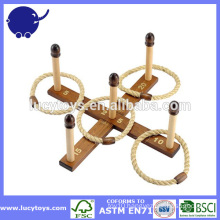 Giant outdoor game Wooden ring toss