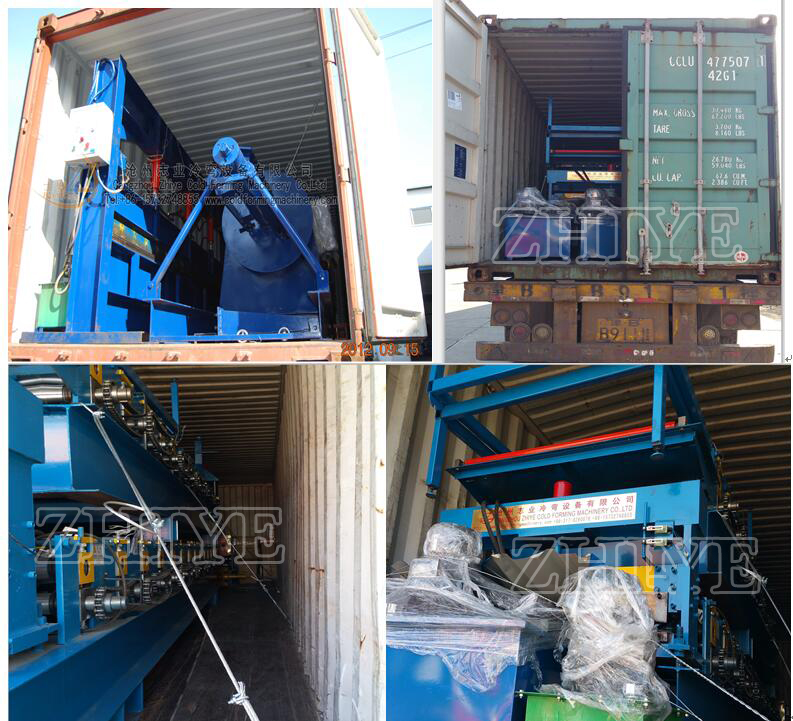 roofing sheet shipping