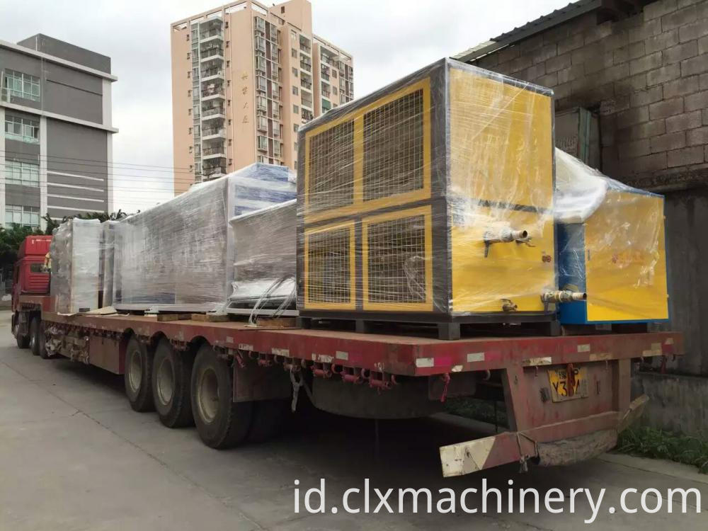 3 layer stretch film machine