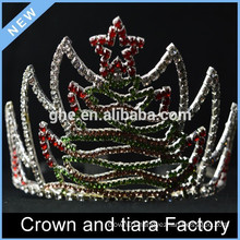 Happy new year birthday tiara crowns, Christmas crown decor
