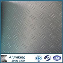 Three Bar Embossed Aluminium Sheet for Kitchen Floor