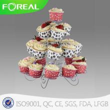 Stand de Cupcake de metal com 4 pax de 23PCS