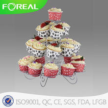 4-níveis 23PCS Metal Cupcake Stand