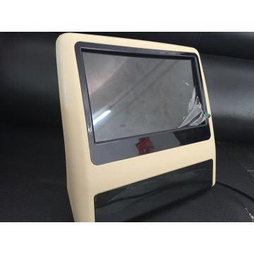 Nuevo Clip 9 pulgadas coche reposacabezas DVD para asiento trasero