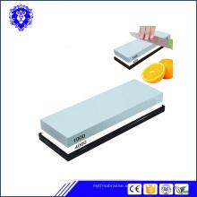 afiladores de cuchillos de afilar con soporte antideslizante con base de bambú
