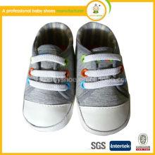 Zapatos de bebé de la lona, zapatos de bebé suaves del bebé shoes.cheap 2015 al por mayor mocasines del bebé de los zapatos