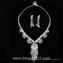 Astergarden Real Photos Wedding Evening Necklace ASJ031