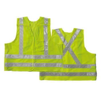 Safety vest with chest pocket