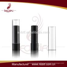 LI19-1 Tubo de lápiz labial de plástico y diseño personalizado de envases de tubo de lápiz labial