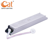 Emergency LED tube light inverter with battery pack