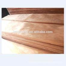 Chapa de madera de Okume Chapa de caoba natural