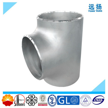 Pipe Fittings Edelstahl Equal Tee