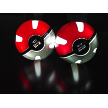 Banco de poder Pokemon Go Ball Power Bank 10000mAh Chager com luz LED para Go Ar Game