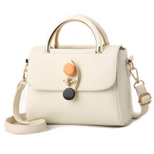 2021 New Simple and Fashionable Leather Handbag