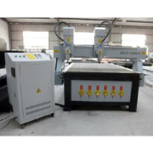 CNC Woodworking Machine with Double-head, Vacuum Table and Dust Collector, Improves EfficiencyNew