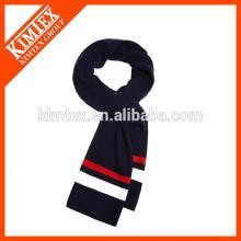 Bufandas de punto de la raya del ganchillo de la alta calidad al por mayor