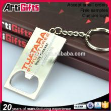 Ouvre-lettre de porte-clés en métal de vente directe d'usine