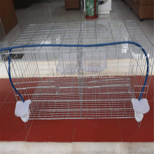 Jaula para perros de malla de alambre de acero inoxidable
