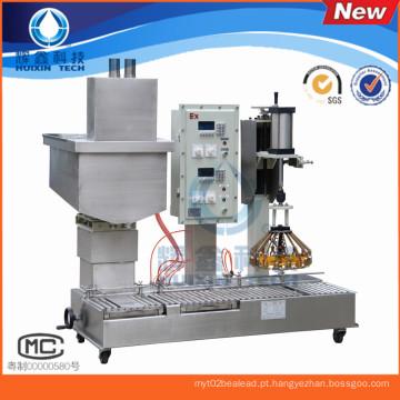2015 alta qualidade 2 cabeças máquina de enchimento líquida automática com tampando ou linha de enchimento