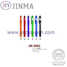 Поощрения подарки пластмассовый шарик перо Jm-6003 с одной стилуса Touch